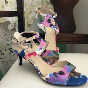 Floral sandals from Franco Sarto